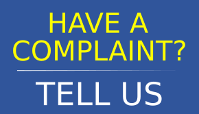 Have a complaint - tell us