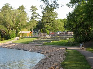<b>Deep River&#039;s waterfront path. Submitted by Kim Knight.</b>