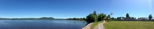 <b>A panorama of the waterfront path submitted by Mike Thompson.</b>