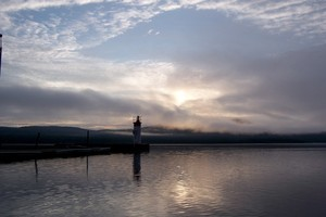<b>Deep River&#039;s lighthouse submitted by Kim Knight.</b>