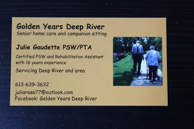 Golden Years Deep River