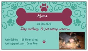 Kyrie's Dog Walking & Pet Sitting Services