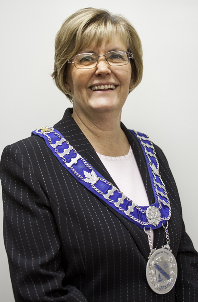 Mayor Joan Lougheed