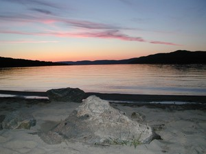 <b>Pine Point at Sunset care of Andree LeClair</b>