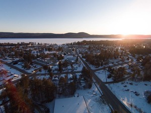 <b>Aerial photo of Deep River from the highway care of Vicki Inch.</b>